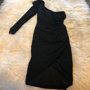 Bebé sexy one shoulder dress